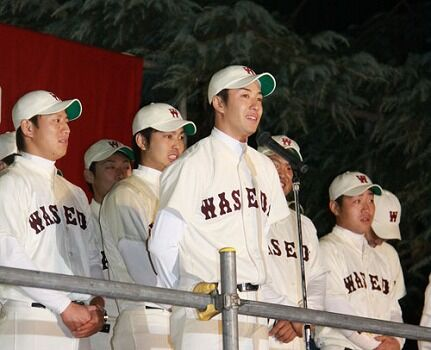 斎藤佑樹(22)「あのぅ…最後に一つだけ言わせてください」球場のファン「おぉー!?」