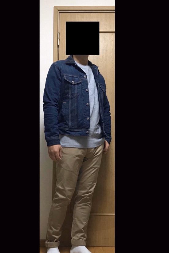 【着画うp】ワイ(21)の週末デートコーデどうや???