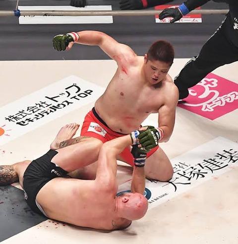貴ノ富士「相撲クビになったから仕方なく総合格闘技やります」→超大暴れ