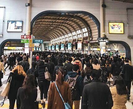 【悲報】東京で超密