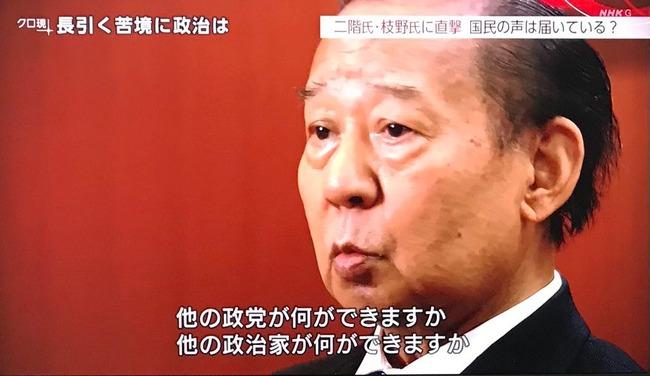 【悲報】二階幹事長「自民党は全力でやってるじゃないか!いちいちケチをつけるな」激昂