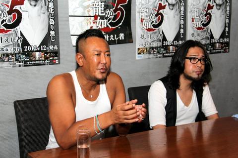 【朗報】龍が如くプロデューサー名越さん、めちゃくちゃケンカが強そう
