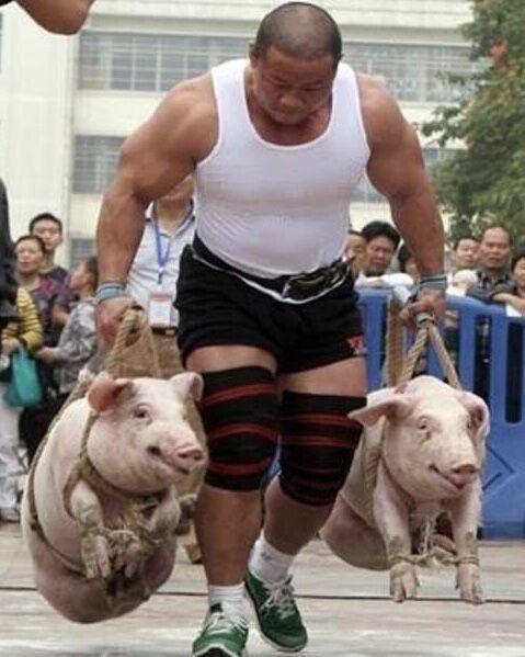 【悲報】中国のウエイトトレーニングがヤバすぎるwwwwwwww