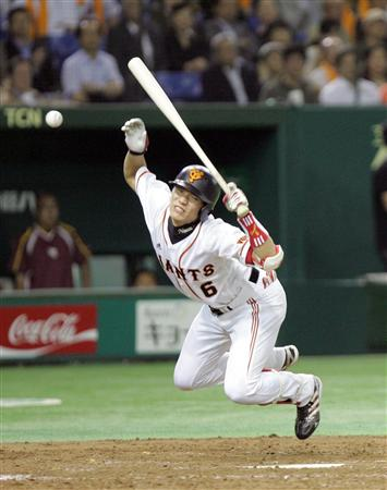 坂本勇人 7733打席 32死球