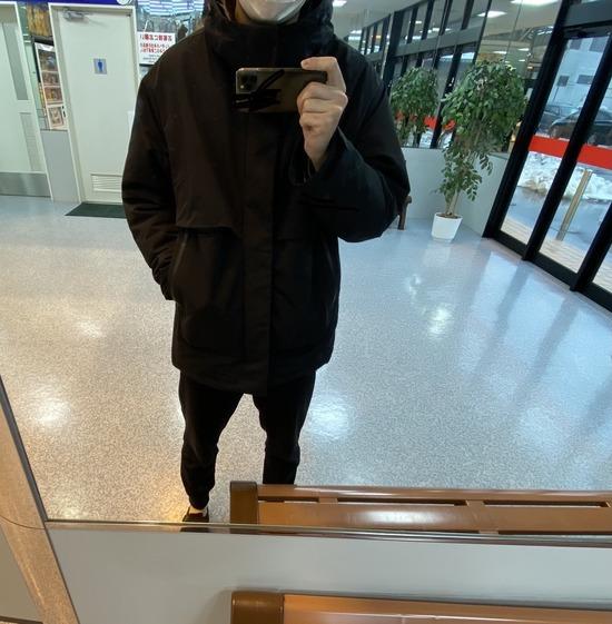 【着画像】寒いからダウンジャケット買った結果wwwwwwww