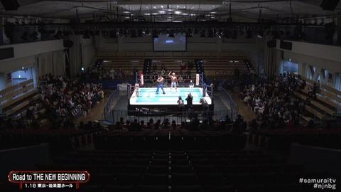 【悲報】新日本プロレス棚橋弘至さん、客が少なすぎて泣いてしまう
