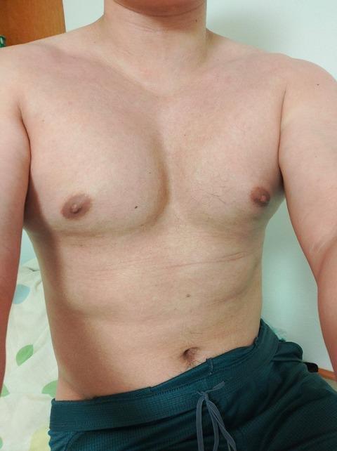 筋トレ二週間目のワイの身体見てwwwwwww