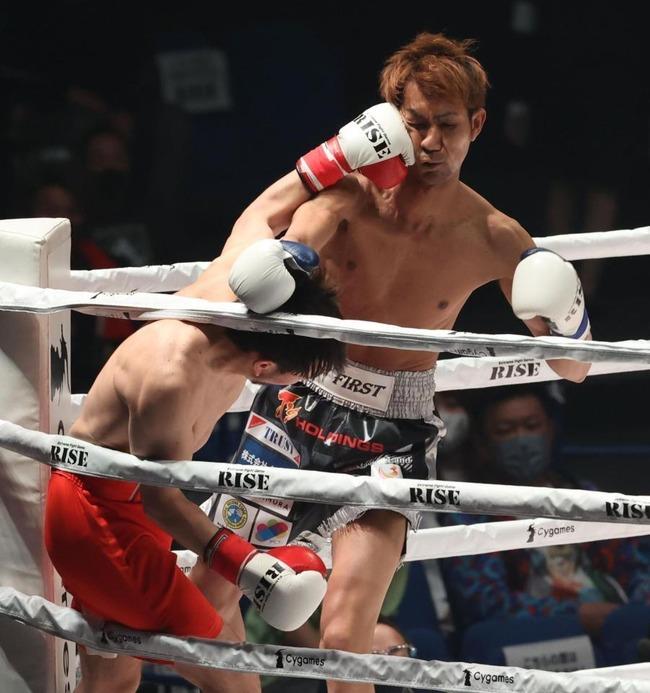 【悲報】元西武・相内誠さん、格闘家デビュー戦は惨敗