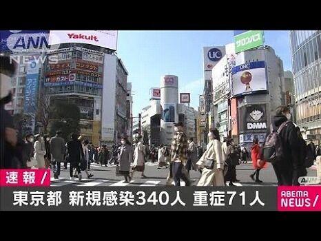 東京 +340