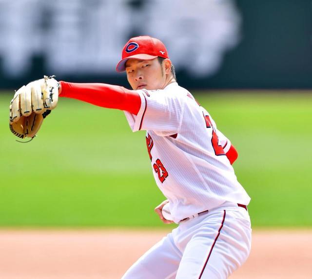 【紅白戦】広島・薮田、1/3回を8失点でピシャリ