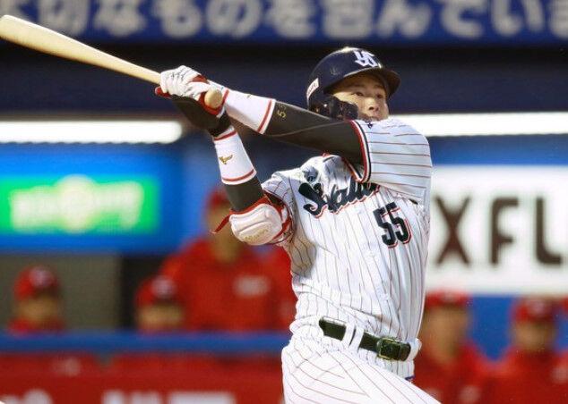 村上宗隆(21)「OPS、出塁率、長打率、塁打、四球、敬遠が一位です」←こいつの行く末