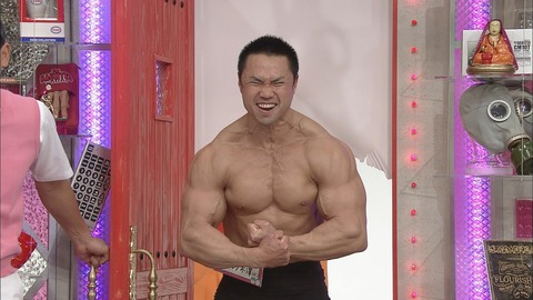 ジュラシック木澤とかいうボディビルダー 別格の筋肉なんだが…