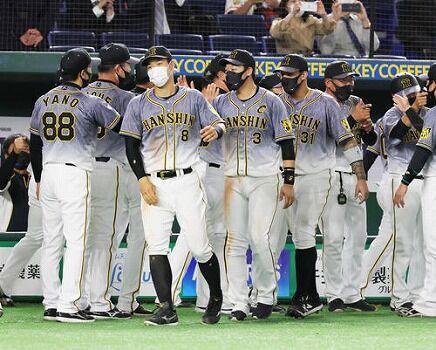 阪神タイガース(16勝4敗貯金12)←これwwwwwwwwwww