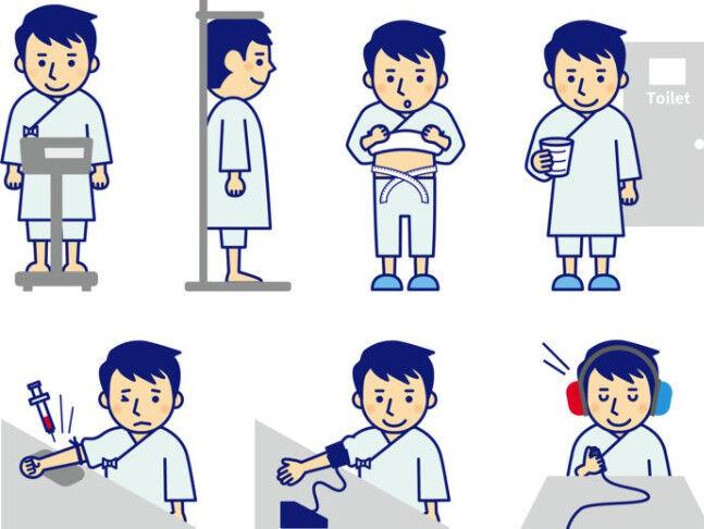 健康診断ワイ「ババアこい…ババアこい…ババアこい…!」