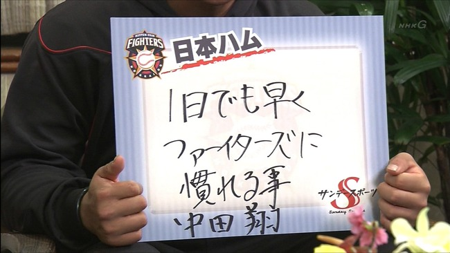 【なソリ】二軍落ちの日ハム中田翔にトレードの噂「広島か中日が有力候補」