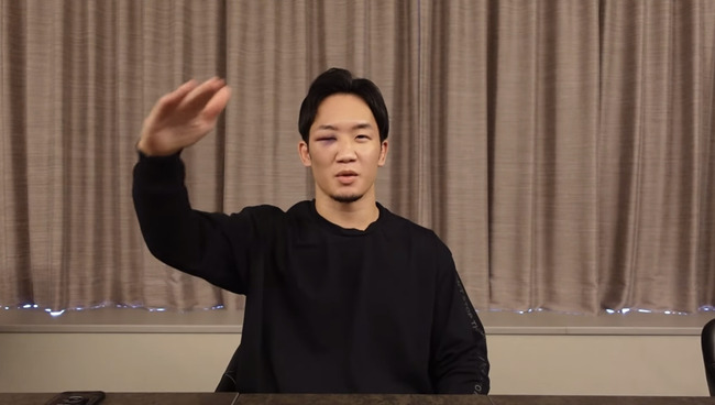 【朝倉未来】中田翔、やっぱり多分殴られていた【と比較】
