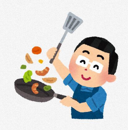 マッマがいない時にパッパが作る料理wwww