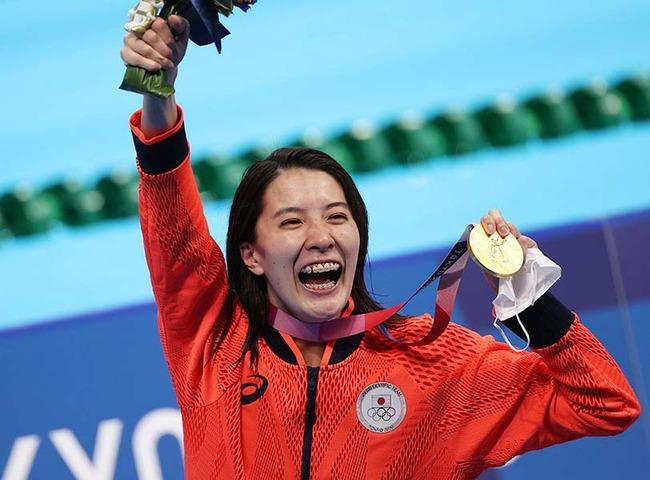二冠の大橋悠依、メディアに注目され競泳界のヒロインになる