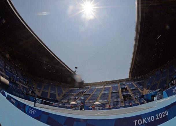 【悲報】組織委、テニス選手からの猛暑批判に「水と氷がたくさんある」と反論
