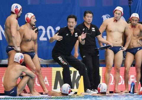 【画像】水球日本代表のわがままボディwywywywywywywywywywy